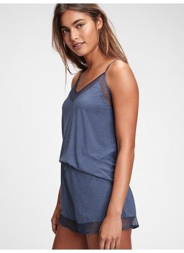 Gap Pijama Üst Mavi